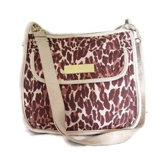 Betsey Johnson bag leopard print crossbody bag